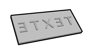 HANKO - Catégorie plaques de texte