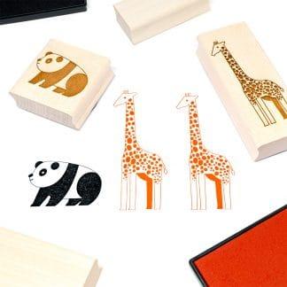 Tampons en bois pour loisirs créatifs