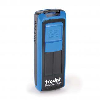 HANKO Luxembourg - Tampon de poche Trodat Pocket Printy 9512 - Bleu